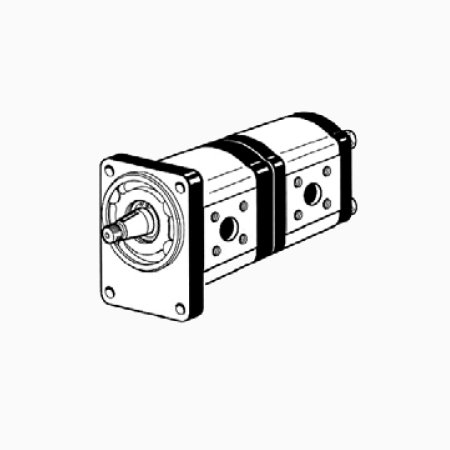 22TM BC - Gear pumps group 2+2